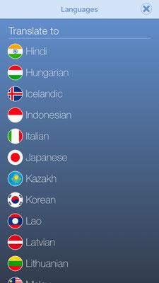 veganagogo languages H-L