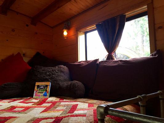 caboose tiny house loft bed caravan tiny house hotel