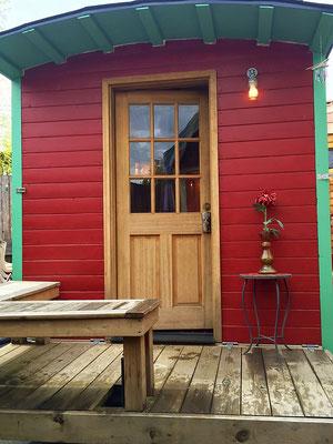 caboose tiny house front door caravan tiny house hotel
