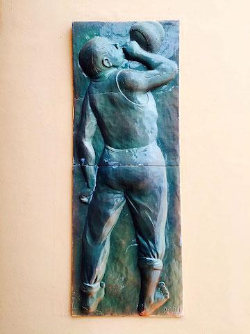 italian fresco la francesca italy