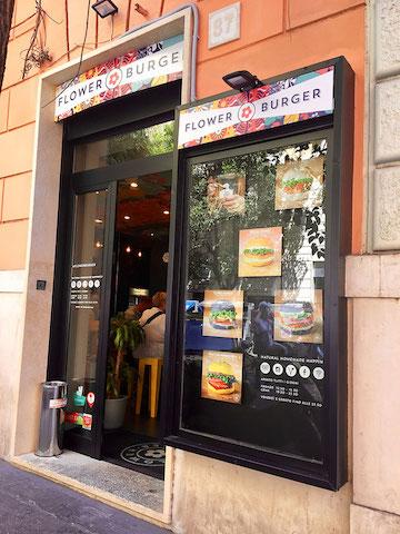 flower burger rome italy