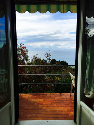 terrace view la francesca resort bonassola italy