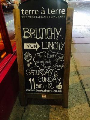 Terre à Terre Vegetarian Restaurant Brighton