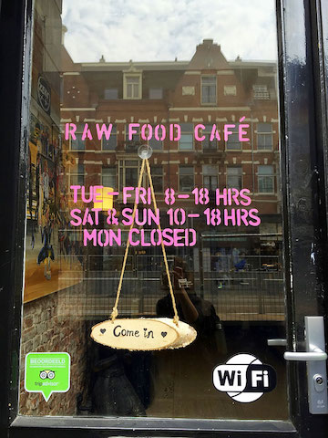 raw food cafe amsterdam