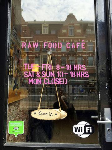 raw food cafe amsterdam