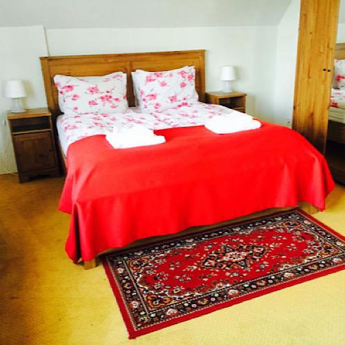 hotel laxnes iceland bedroom