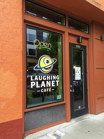 laughing planet cafe portland oregon
