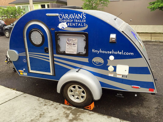 teardrop trailer caravan tiny house hotel