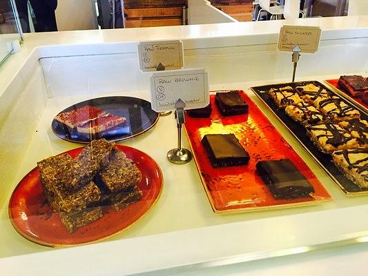 vegan desserts glo reykjavik iceland