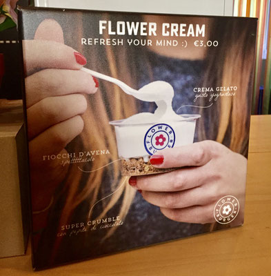 flower cream from flower burger