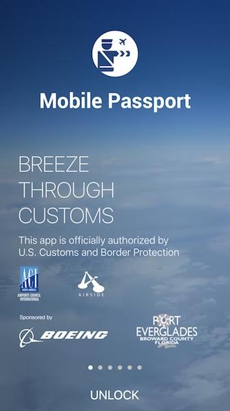 breeze through customs with mobile passport