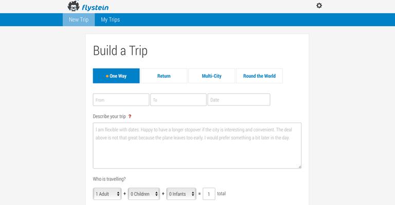 flysetein build a trip