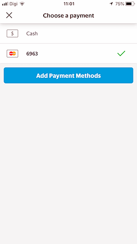 payment methods grab app