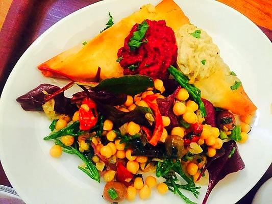 vegan restaurant cornucopia dublin