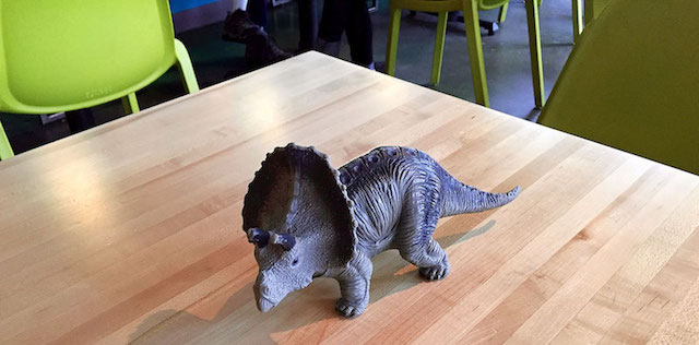 dinosaur toys laughing planet cafe