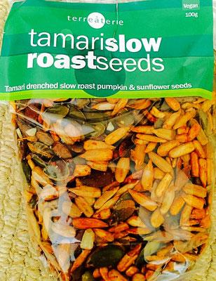 tamari slow roast seeds Terre à Terre