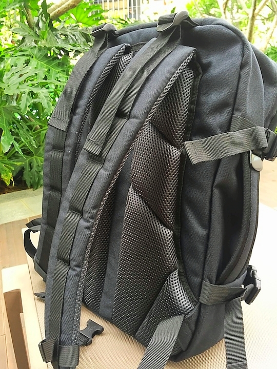 air mesh shoulder straps military 28L cabin zero backpack
