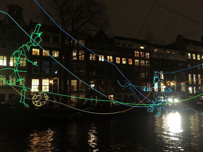 amsterdam light festival holland
