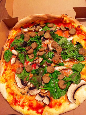 vegan pizza Pizza Me Brighton