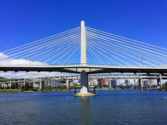 Tillakum Crossing Bridge in Portland Oregon