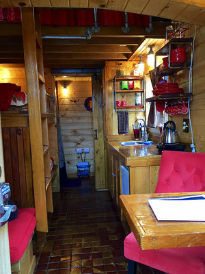 caboose tiny house interior caravan tiny house hotel