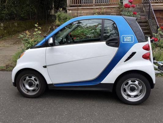 car2go smart car