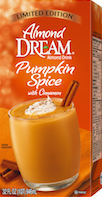 pumpkin spice almond dream