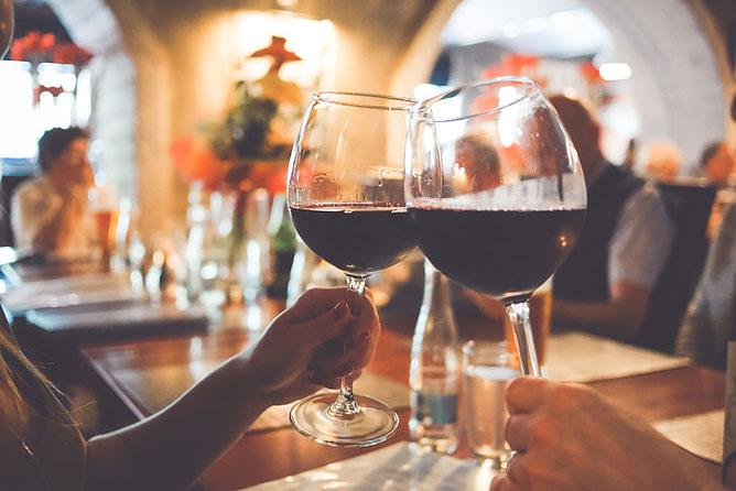 It's the wine talking!