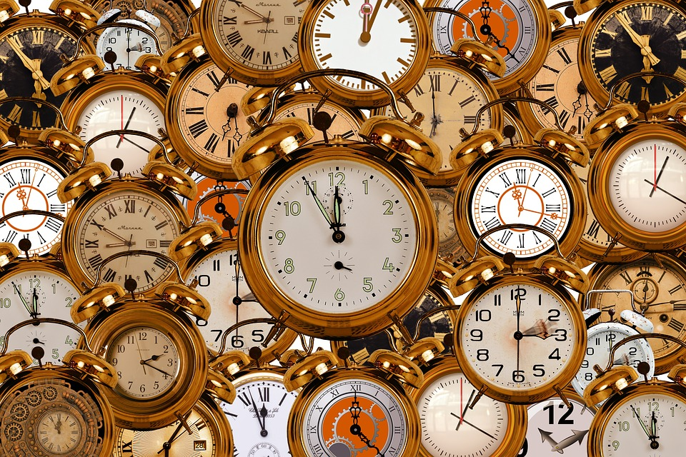 From months to minutes - talking about time in French