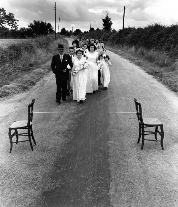 Robert Doisneau - Le Mariage