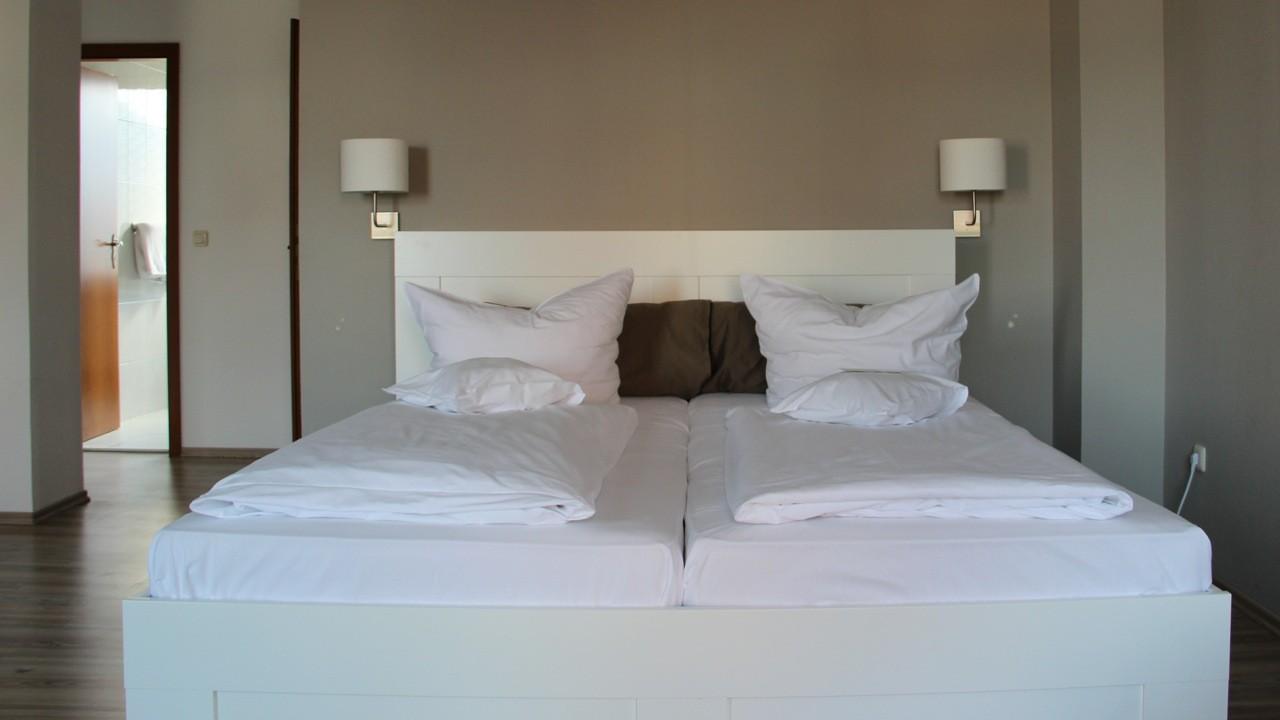 Komfort Apartment Doppelbett - Beispiel