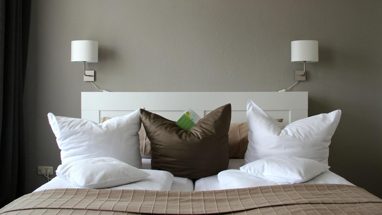 Beispiel Familien Apartment - Bett