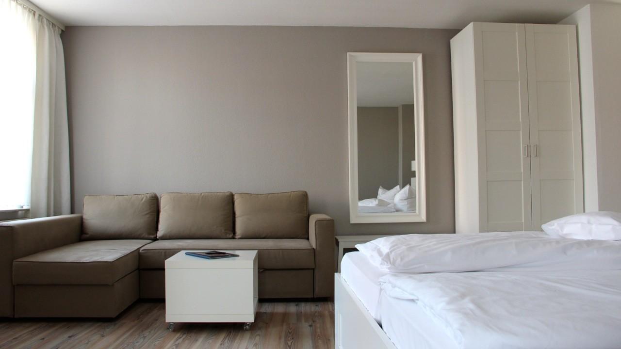 Komfort Apartment Sofa (Sofabett) - Beispiel