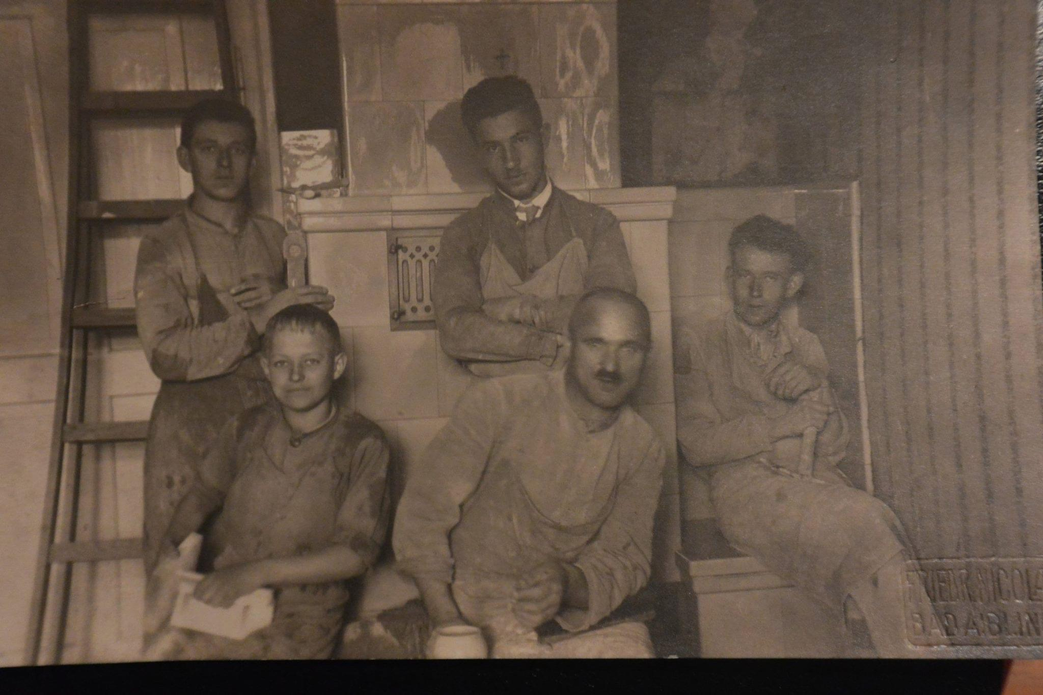 5. Generation (links hinten mein Ur-Ur-Großvater)
