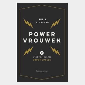 Boekentip PowerVrouwen, platform voor vrouwelijke ondernemers, PowerVrouwen, Julia Pimsleur