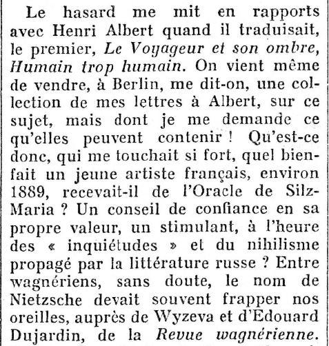 Le Figaro, 9 novembre 1932
