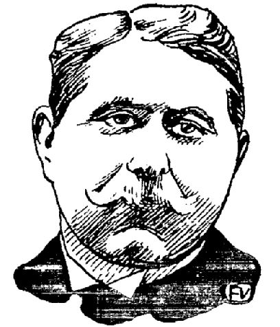 Portrait par Félix Vallotton