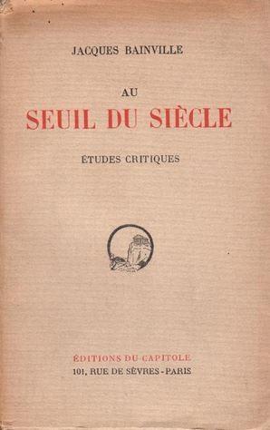 Nietzsches Wirkung auf Jacques Bainville