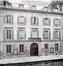 Façade du Musée social en 1898