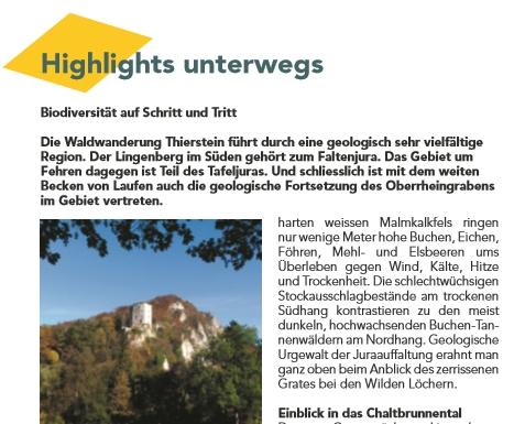 Waldwanderung im Solothurner Jura Schwarbubenland