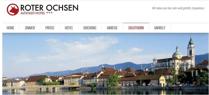 1. Tag Anreise und Stadtführung Solothurn - 2. Tag Einsiedelei Röti - Weissenstein - Balmberg