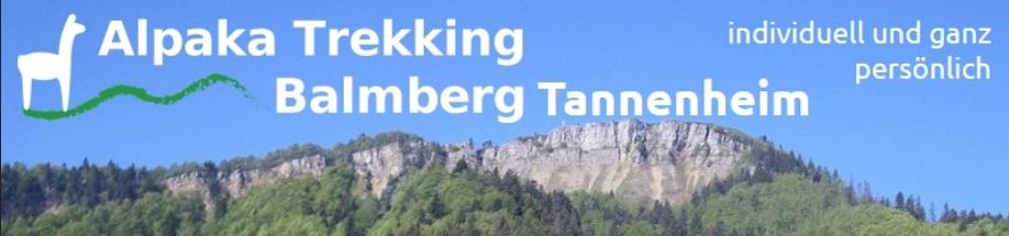 Wandern und Trekking mit Alpakas auf dem Balmberg im Jura