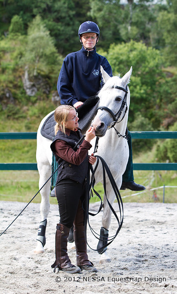 Rideundervisning for voksne ved Bergen