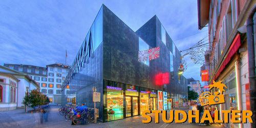 MMM Schweizerhof Luzern: Centers Migros Luzern Architektur GMLU