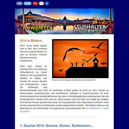 KLICK FÜR DEN NEWSLETTER JANUAR 2015