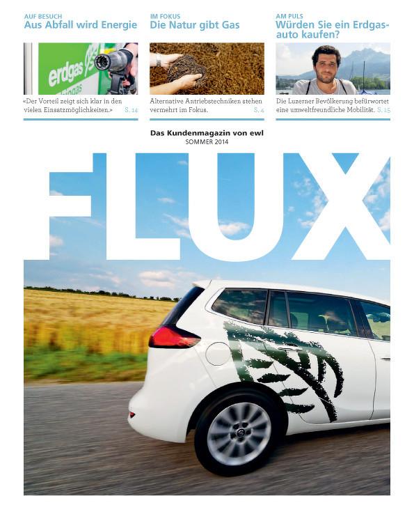 FLUX 2-2014: Das Kundenmagazin der ewl (energie wasser luzern)