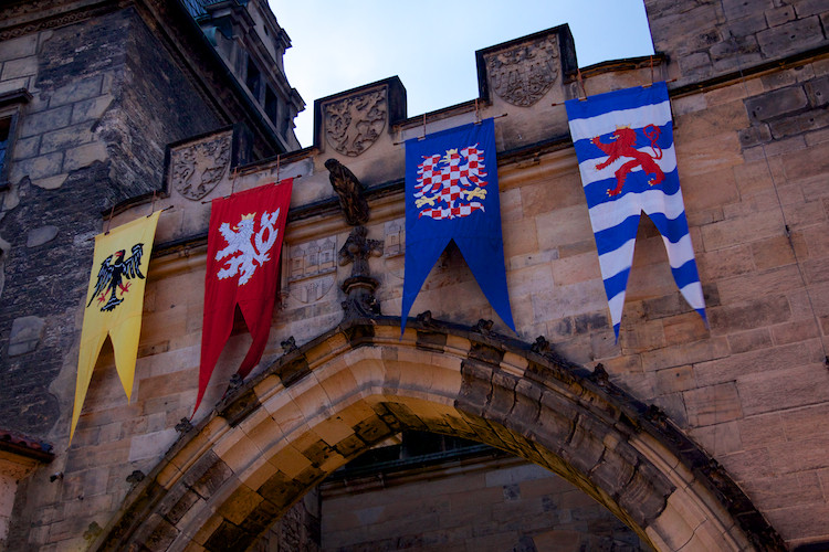 Flags - Charles Bridge