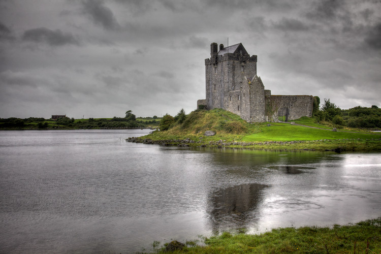 Dungoaire Castle, the Burren