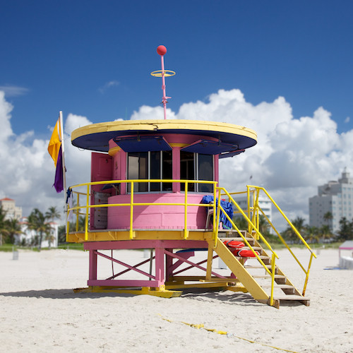Lifeguard, Miami Beach