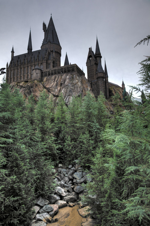Hogwarts Castle, Universal's Islands of Adventure, Orlando
